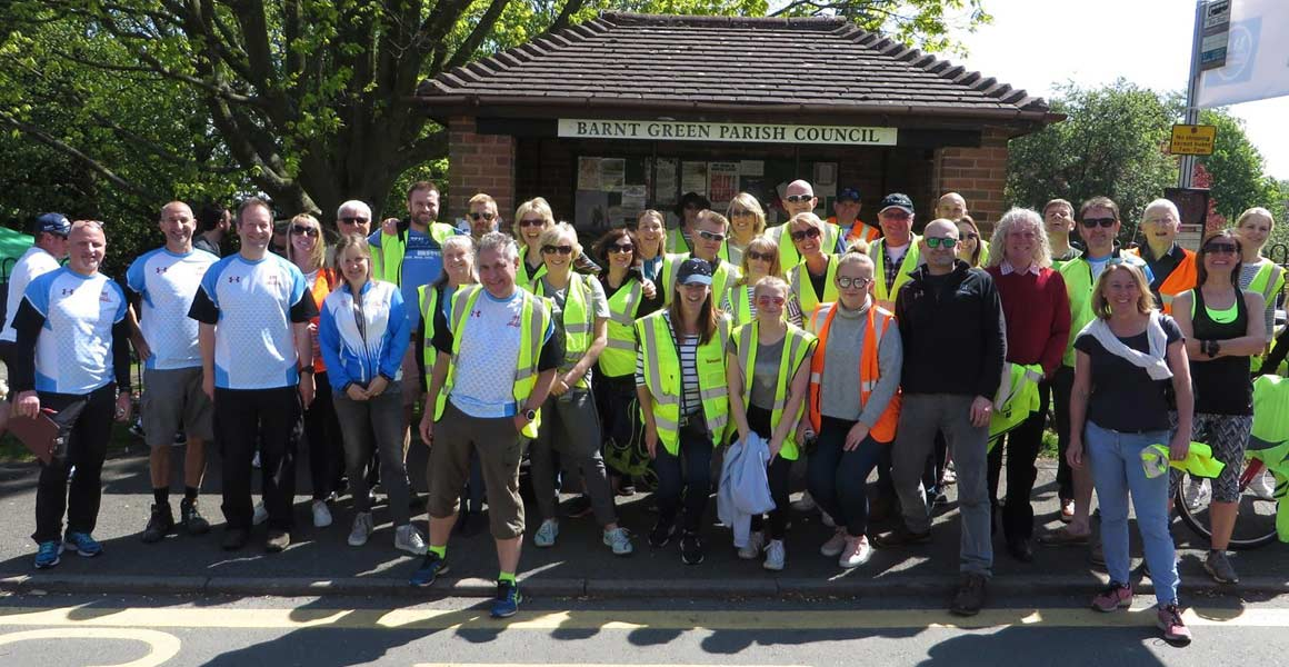 Barnt Green Fun Run Volunteers May 2017