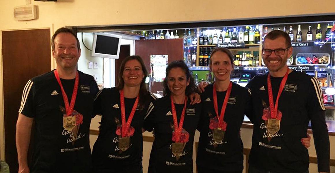Our London Marathon Runners 2017