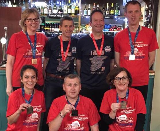 Birmingham Marathon 2018