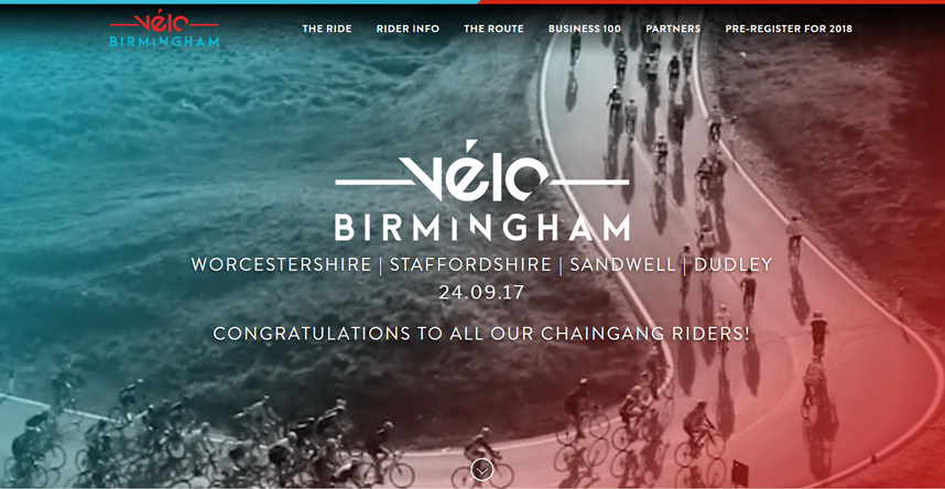 Velo 2017 with 17 Chaingangers riding 100 miles