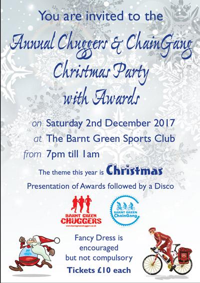Awards & Xmas Party @ Barnt Green Sports Club