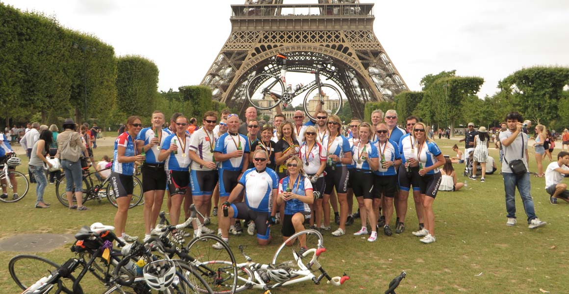 Chaingang London to Paris July 2014