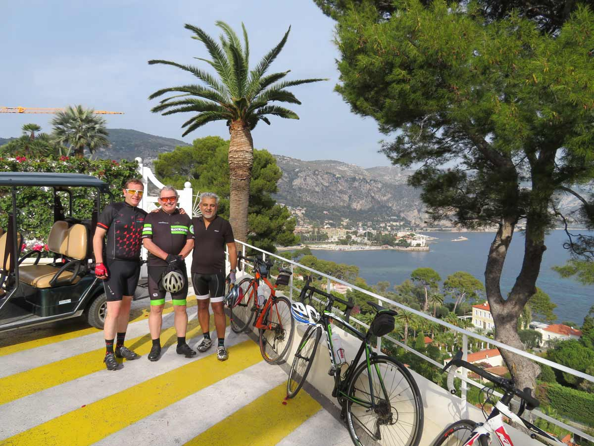 At Cap Ferrat on the way back from Monte Carlo