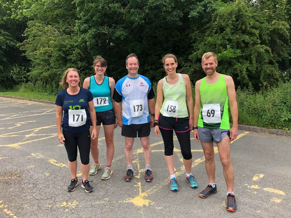 2018 Chuggers at the Worcestershire Mid Week Run Redditch