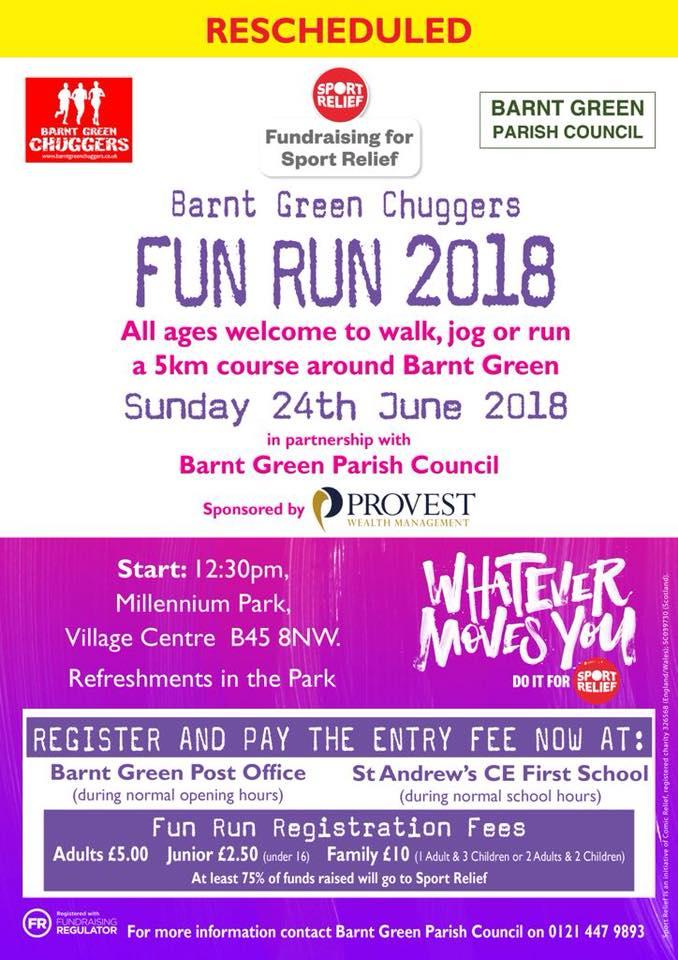 2018 Barnt Green Fun Run