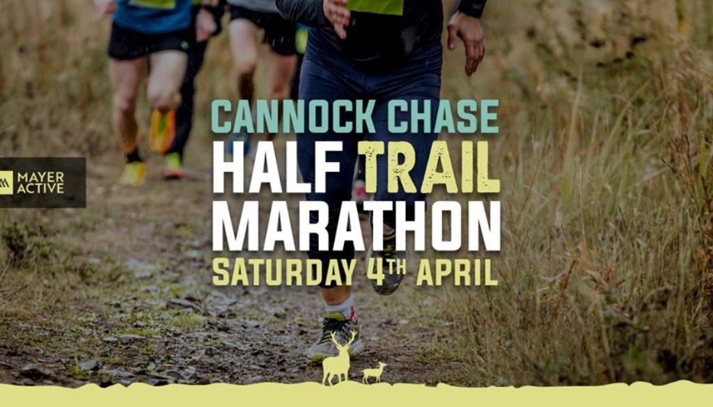 Cannock Chase half marathon