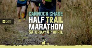 The Cannock Chase Half Trail Marathon @ Tackeroo Camp Site, Penkridge Bank Road, Nr Rugeley, Staffordshire, WS15 2UA