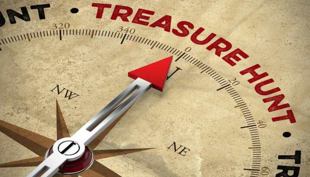 Treasure Hunt compass